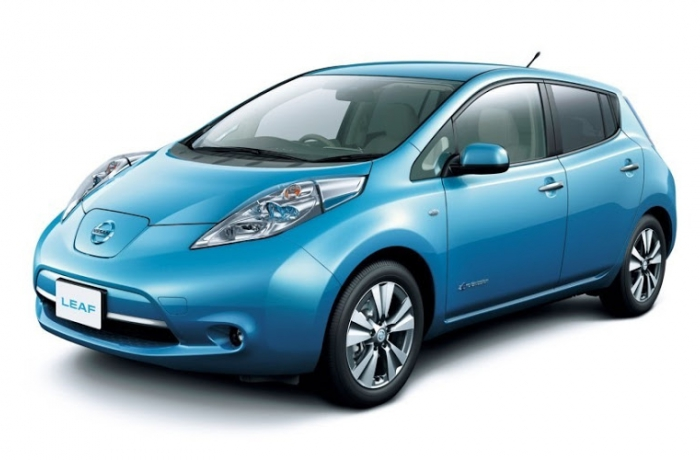 Nissan Leaf full electric Visia plus navi